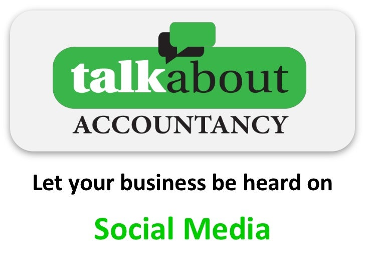 Let your business be heard on     Social Media