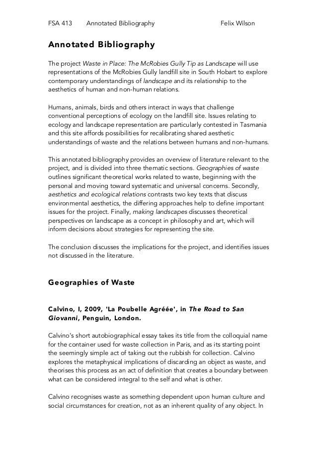 annotated bibliography mockingjay