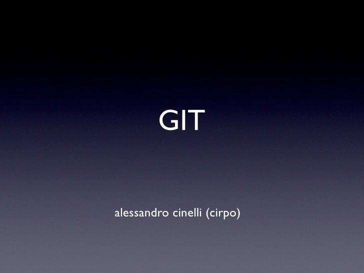 GITalessandro cinelli (cirpo)