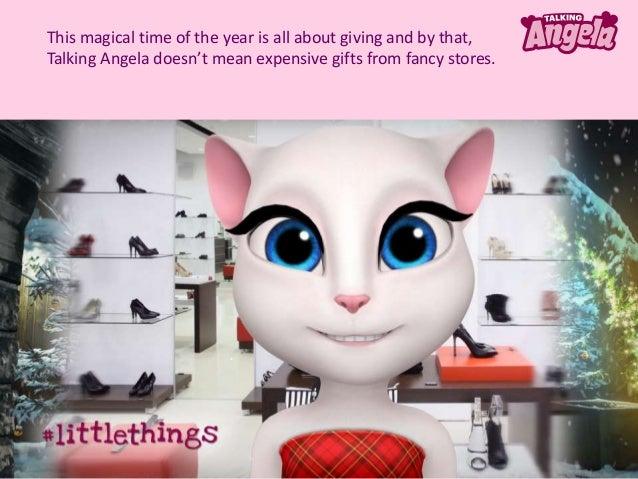 Talking Angela - Festive Magic Moments