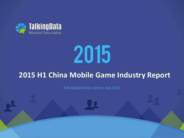 Game Time 5 Must-Knows About China s Mobile Gaming Market