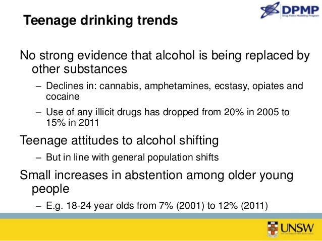 Briefing Paper – Alcohol, tobacco and other drug use