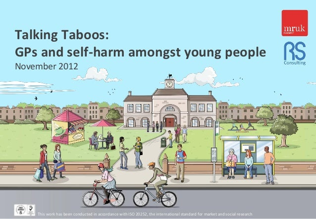 Talking Taboos:GPs and self-harm amongst young peopleNovember 2012    This work has been conducted in accordance with ISO ...