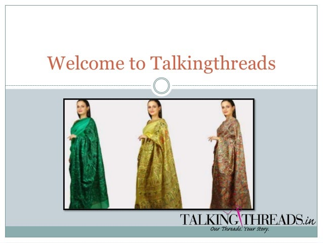 Welcome to Talkingthreads