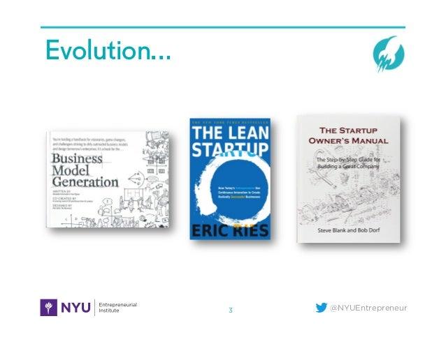 @NYUEntrepreneur Evolution… 3
