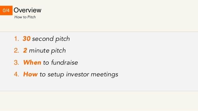 Y Combinator Startup Class #19 : How to talk to investors 2/2 Slide 3
