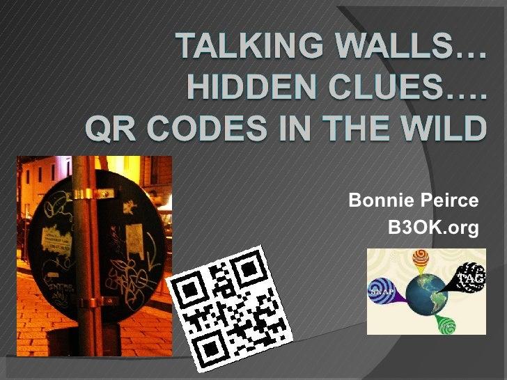 Bonnie Peirce B3OK.org