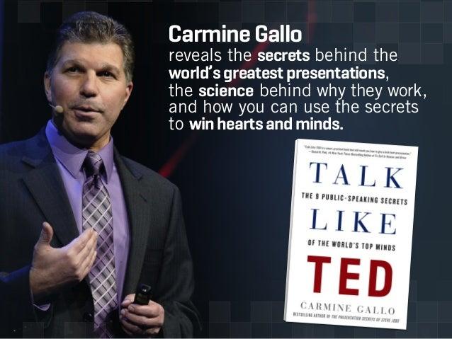 Talk Like TED: 3 Unbreakable Laws of Communication  Slide 2