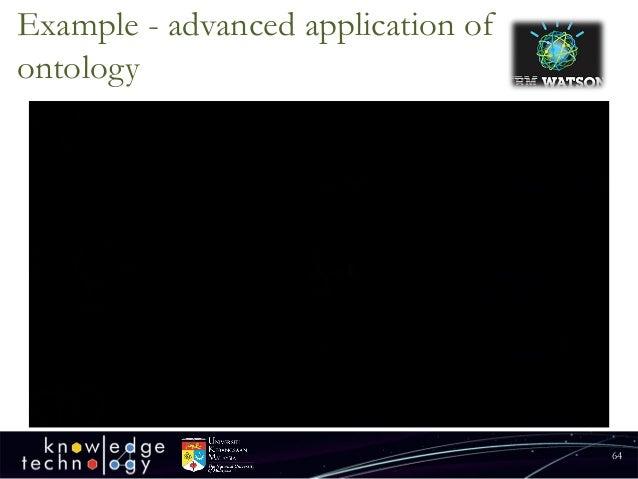 Example-advancedapplicationofontology  64