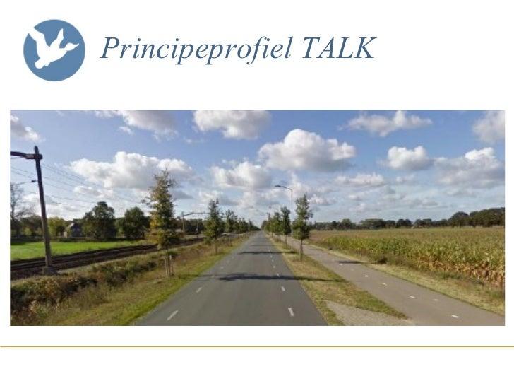 Principeprofiel TALK
