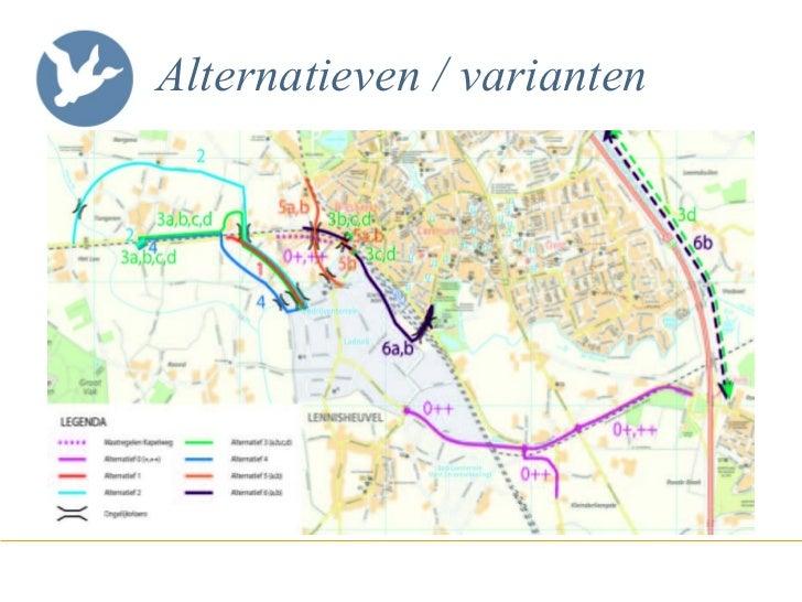 Alternatieven / varianten