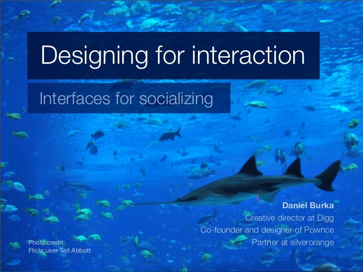 Designing for Interaction Slide 3