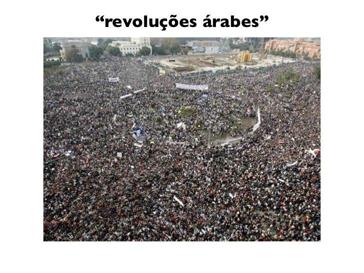 """""""revoluções árabes"""""""