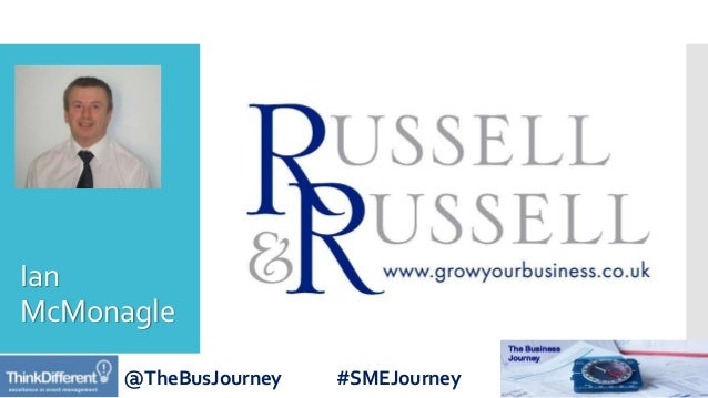 @TheBusJourney #SMEJourney Ian McMonagle