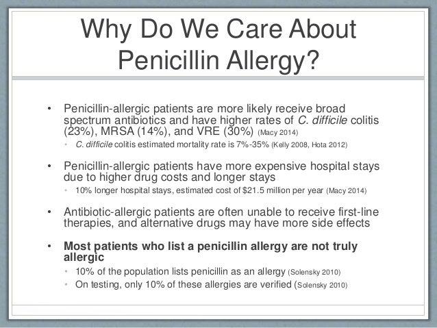 WUSTL Penicillin Allergy QI Pathway
