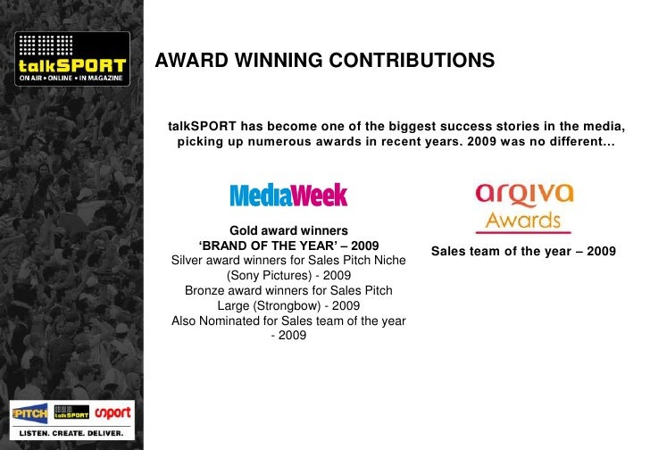talkSPORT has become one of the biggest success stories in the media, picking up numerous awards in recent years. 2009 was...