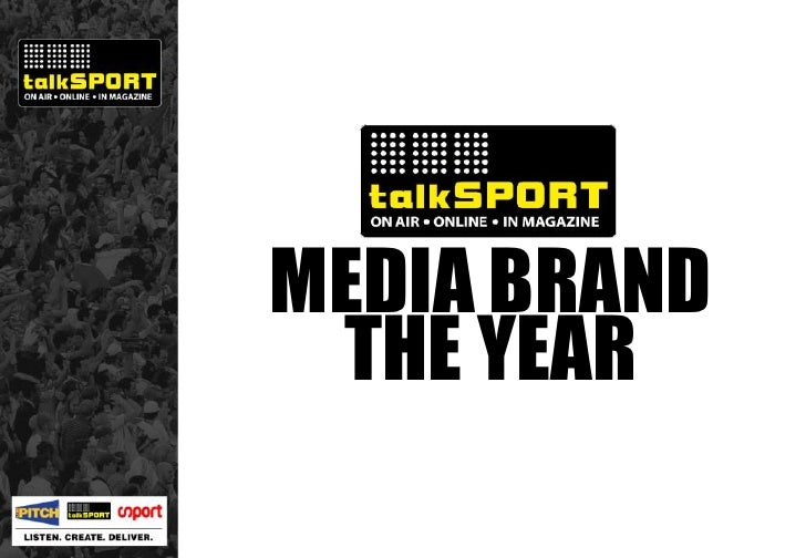 MEDIA BRAND OF THE YEAR