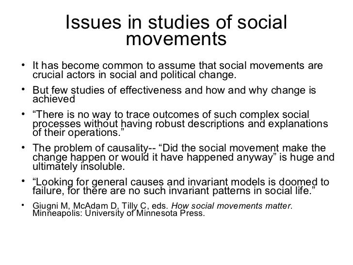 charles tilly social movements pdf