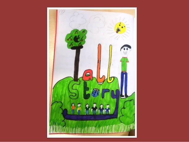 Children Redesign Cover Art for Tall Story by Candy Gourlay Slide 3