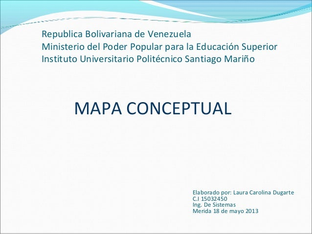 Republica Bolivariana de VenezuelaMinisterio del Poder Popular para la Educación SuperiorInstituto Universitario Politécni...