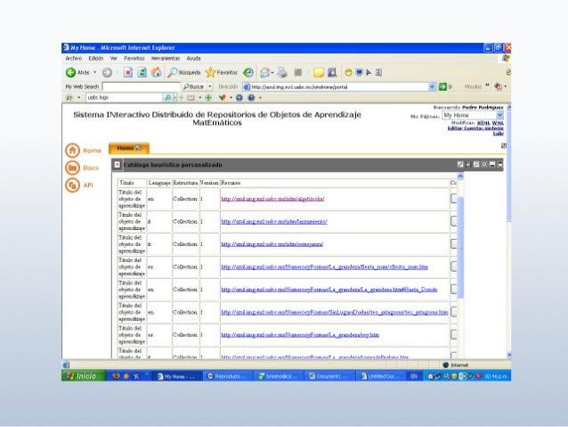 59 Categoría Descripción General Agrupa la información general que describe un OA de manera global. Lifecycle Agrupa las c...