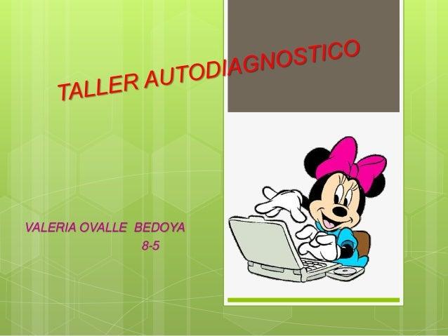 VALERIA OVALLE BEDOYA 8-5