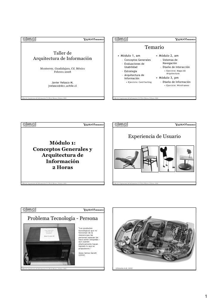 Temario                           Taller de                                                                  • Módulo 1, a...