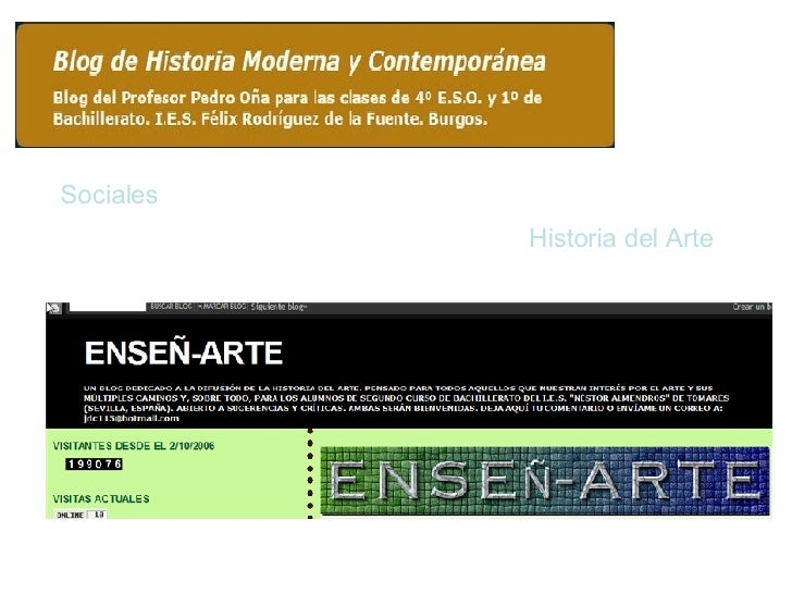 Sociales Historia del Arte