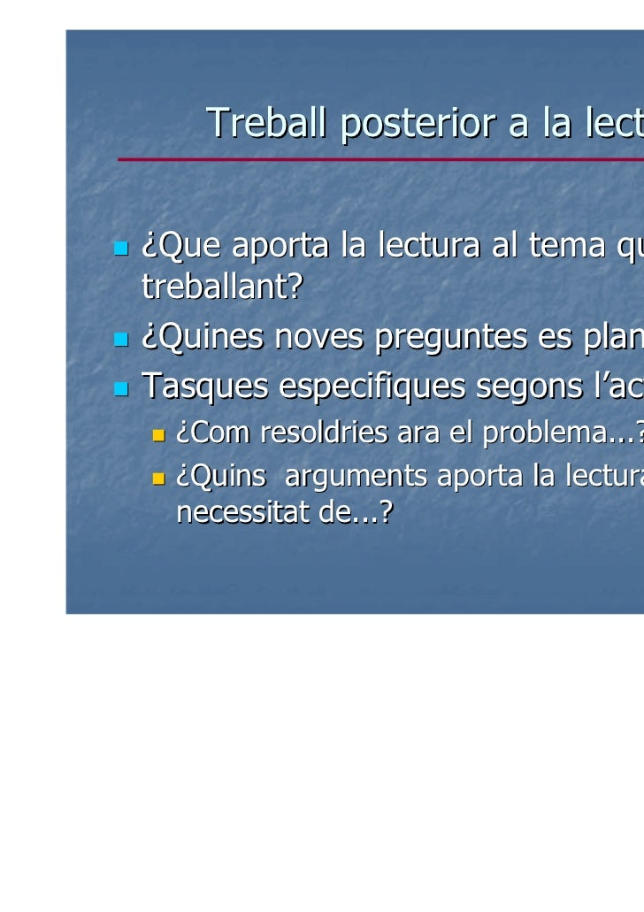 Algunes referènciesJORBA, J; GÓMEZ, I; PRAT, A. (2006). Parlari escriure per aprendre. ICE UABCASAS, M. (codra.) (2005) En...