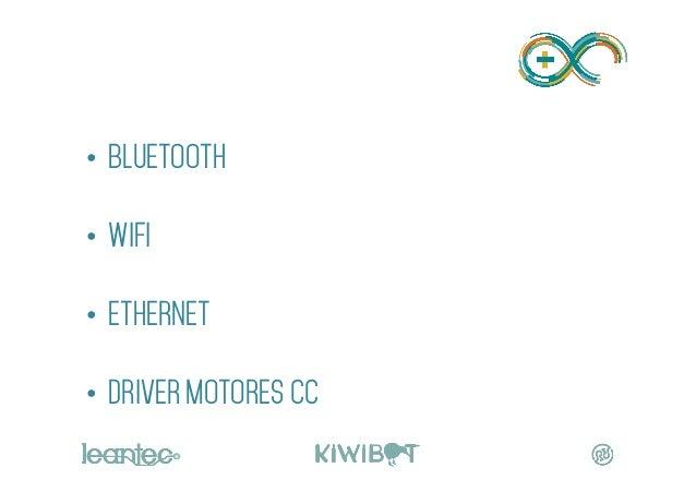 • BLUETOOTH • WIFI • ETHERNET • DRIVER MOTORES cc MÓDULOS