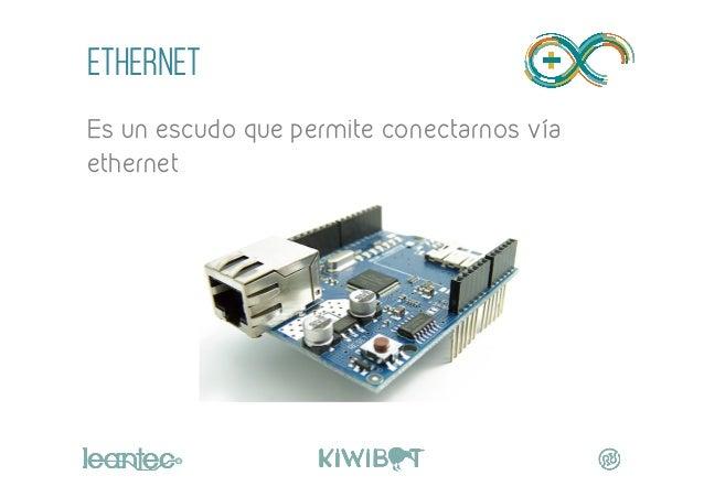 """ETHERNET Es un escudo que permite conectarnos vía ethernet """""""