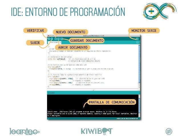 "IDE: ENTORNO DE PROGRAMACIÓN """