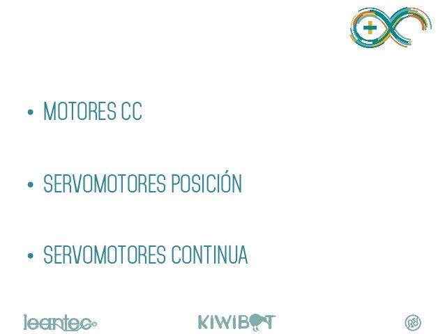 • MOTORES CC • SERVOMOTORES POSICIÓN • SERVOMOTORES CONTINUA MOTORES