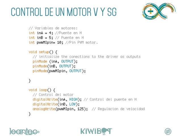 """CONTROL DE UN MOTOR V Y SG """""""