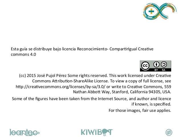 Esta  guía  se  distribuye  bajo  licencia  Reconocimiento-‐  ComparWrIgual  CreaWve   comm...