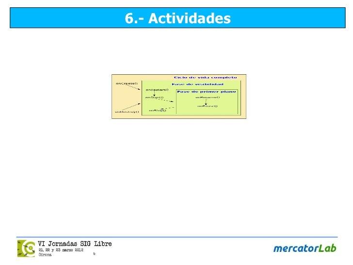 6.- Actividades