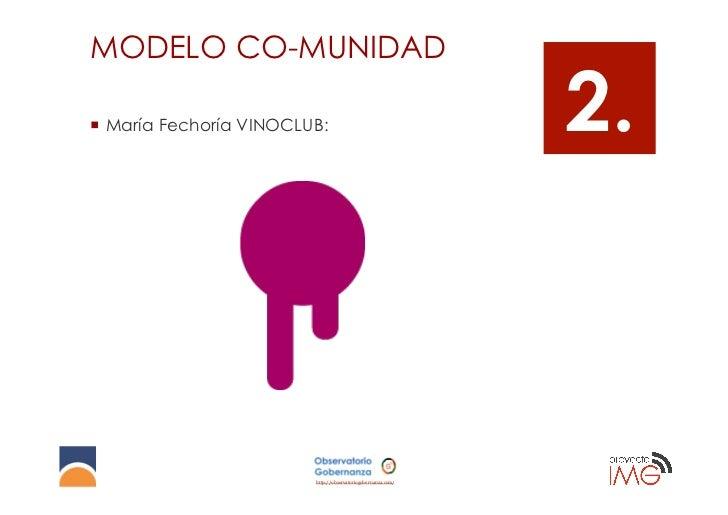 MODELO CO-MUNIDAD¡ María Fechoría VINOCLUB:                                   2.                          http://observa...