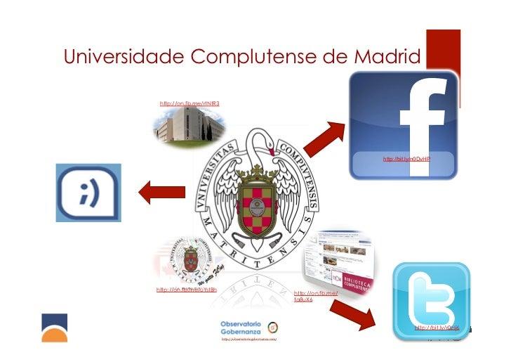 Universidade Complutense de Madrid         http://on.fb.me/rtNtR3                                                         ...