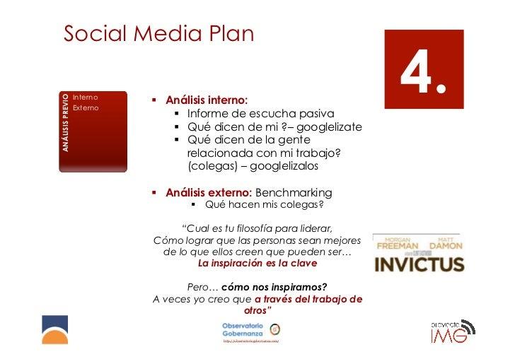 Social Media Plan                                                                    Benchmarking                         ...
