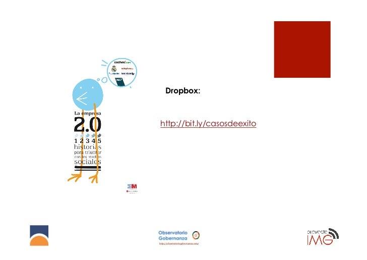 Dropbox:http://bit.ly/casosdeexitohttp://observatoriogobernanza.com/