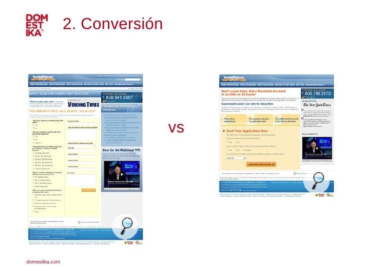 2. Conversión vs