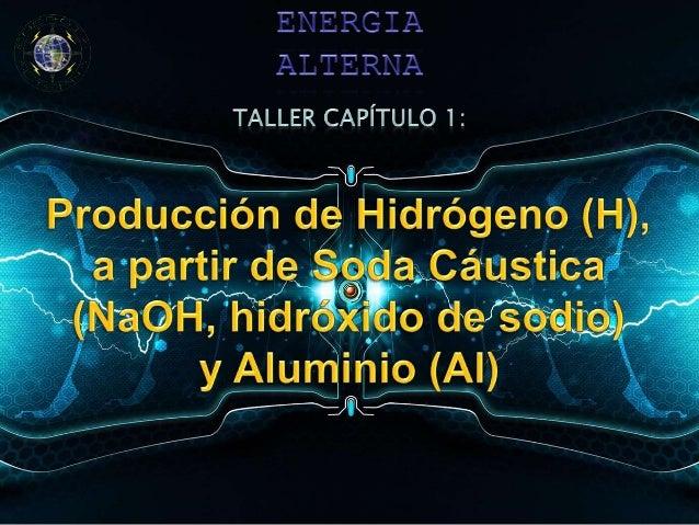 • La producción de Hidrógeno (H) a partir de elementos básicos que se pueden adquirir fácilmente, podría incidir en la vid...