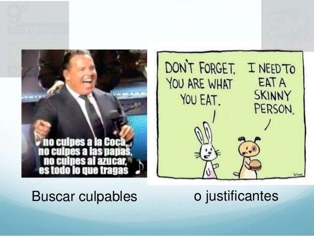 Buscar culpables o justificantes