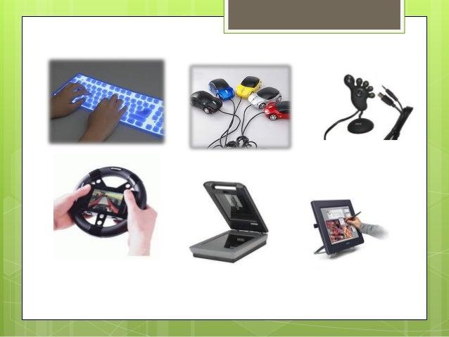  Los periféricos de entrada/salida son los que utiliza el ordenador tanto para mandar como para recibir información.