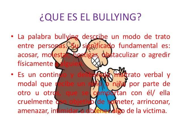 Trabajo sobre el bullying - El bulin de horcajuelo ...