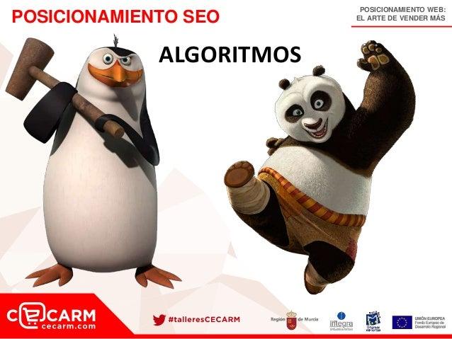 POSICIONAMIENTO WEB: EL ARTE DE VENDER MÁSPOSICIONAMIENTO SEO ALGORITMOS