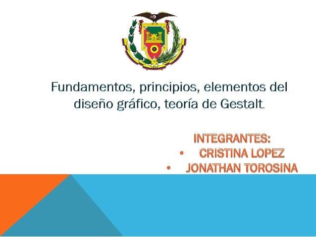 Objetivos Contenido Documentos Recursos Fundamentos Los fundamentos del diseño determinan la posición de la tipografía y l...