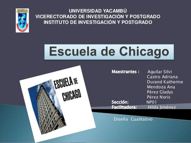 UNIVERSIDAD YACAMBÚ VICERECTORADO DE INVESTIGACIÓN Y POSTGRADO INSTITUTO DE INVESTIGACIÓN Y POSTGRADO Maestrantes : Aguila...