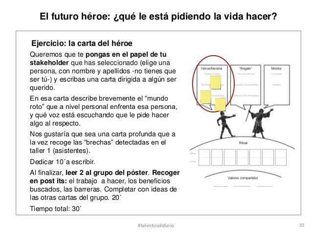 El futuro héroe: ¿qué le está pidiendo la vida hacer?Ejercicio: la carta del héroeQueremos que te pongas en el papel de tu...