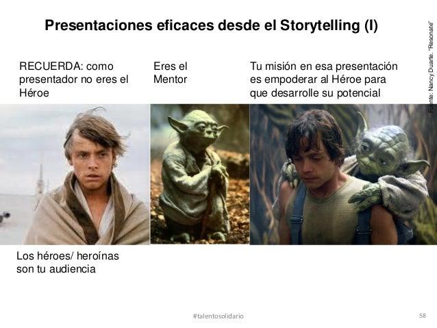 Presentaciones eficaces desde el Storytelling (I)                                                                         ...